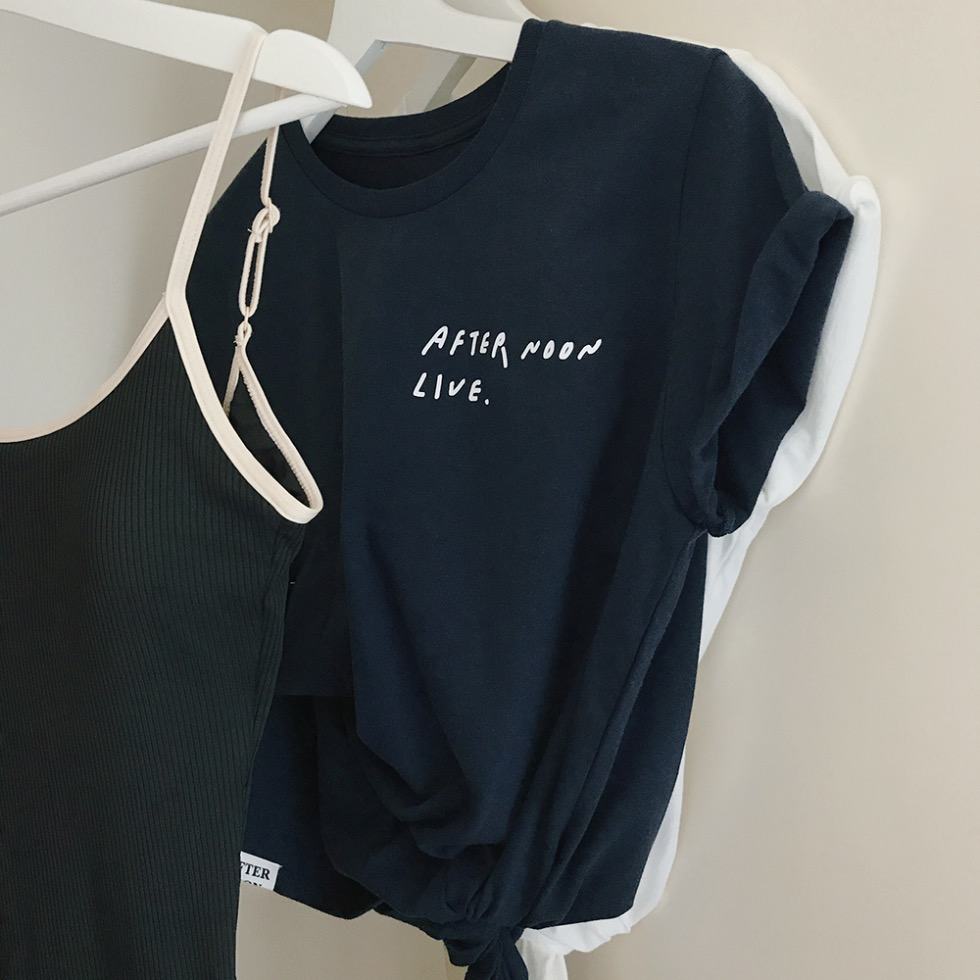 HI SUMMER 1/2 T-SHIRT (DARK INDIGO)