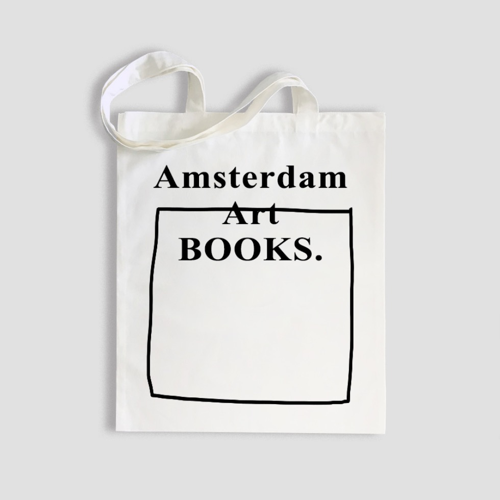 A. (Amsterdam,Art,Books) SHOULDER BAG (WHITE)