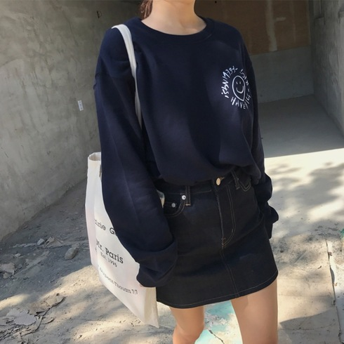 HBBF! SWEATSHIRT (MIDNIGHT BLUE)
