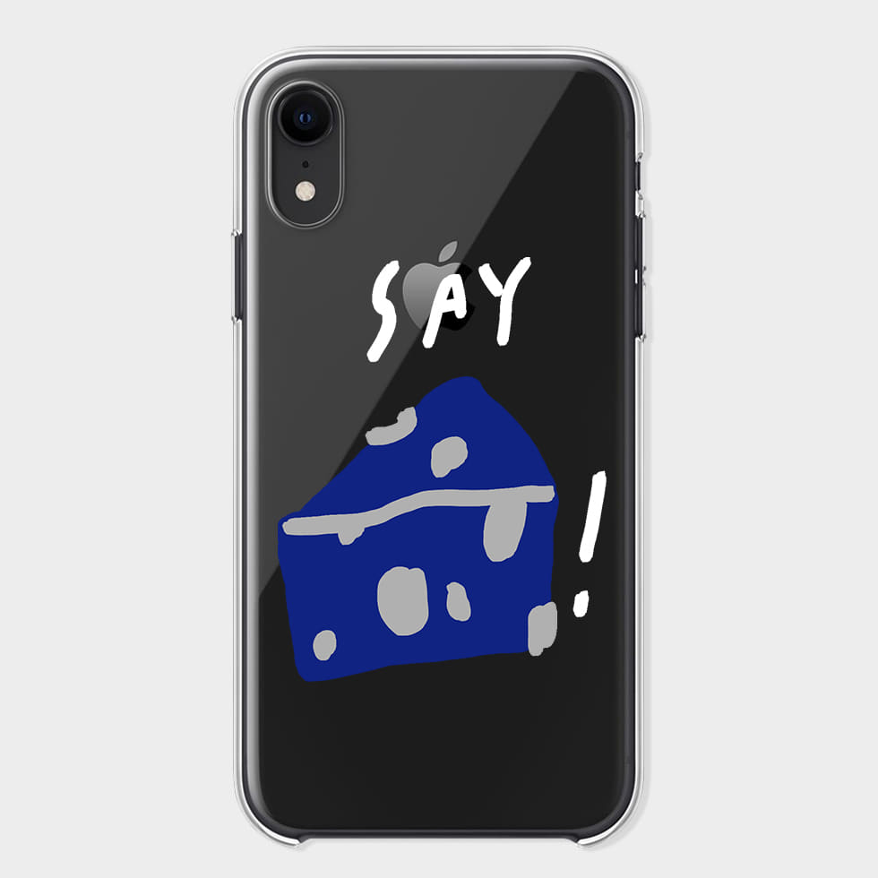 SAY CHEESE! 002 IPHONE CASE (VER. CLEAR)