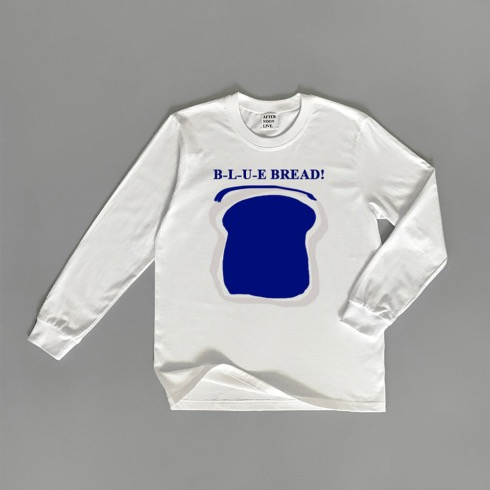 B-L-U-E BREAD T-SHIRT (WHITE)