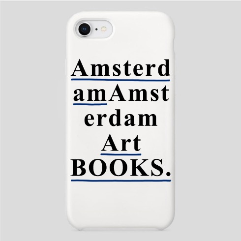 AMSTERDAM ART BOOKS IPHONE CASE (WHITE)