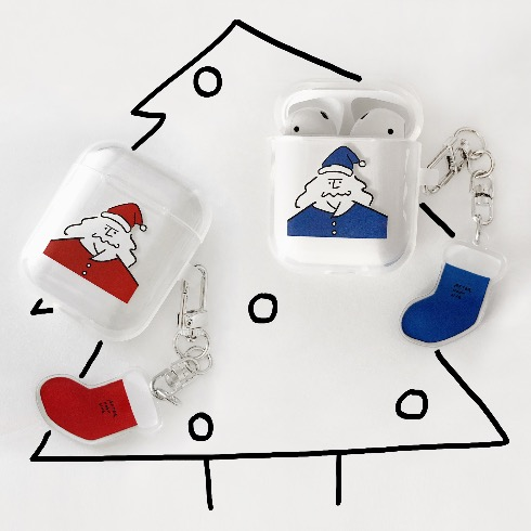 HEY SANTA! AIRPODS CASE (2C)