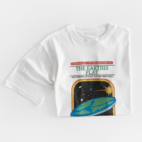 THE EARTHIS FLAT T-SHIRT