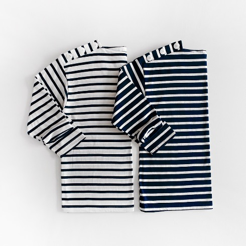 STRIPED MARINE TOP (2C)