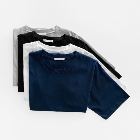 REGULAR CREWNECK TEE (4C)